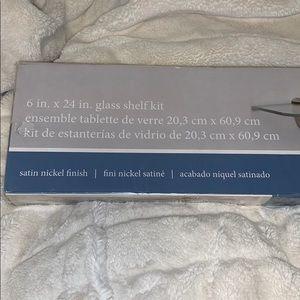 amazon Wall Art - Glass shelf